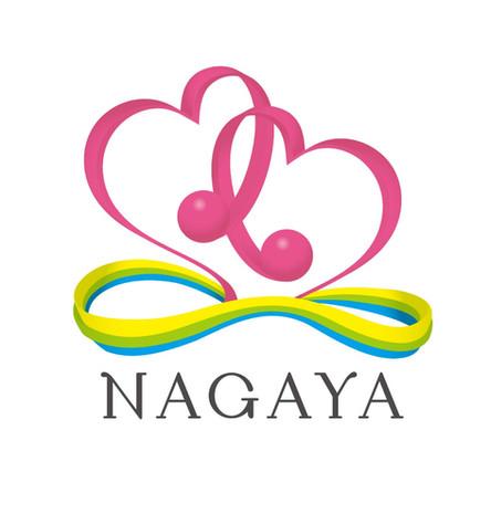 (社)乳幼児子育てサポート協会『nagaya』ロゴデザイン