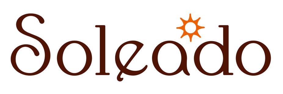 『soleado』看板ロゴデザイン