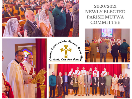 St. Zaia Cathedral Newly Elected Parish Mutwa Committee