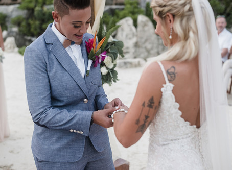 Nikki And Mikayla's Destination Wedding | Hotel Xcaret | Riviera Maya, Mexico