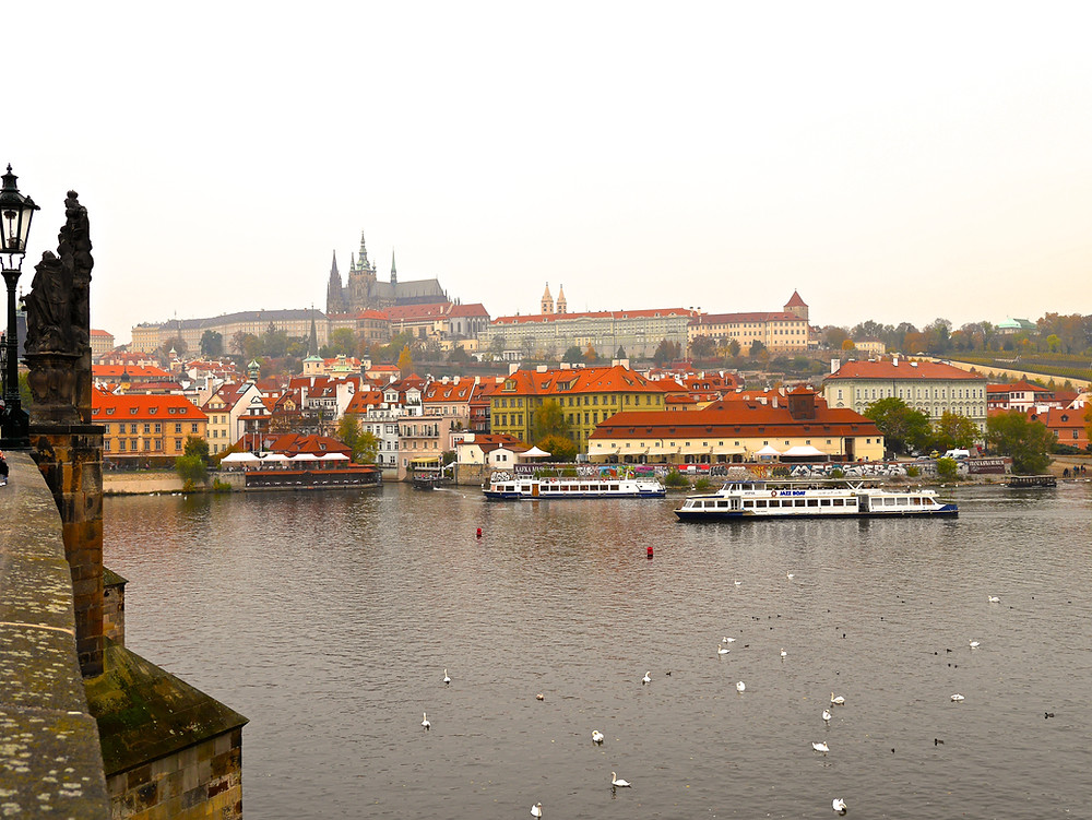 (View from the Charles Bridge)
