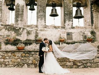 Danica & Brannon's Wedding Day | Franciscan Gardens | San Juan Capistrano, CA
