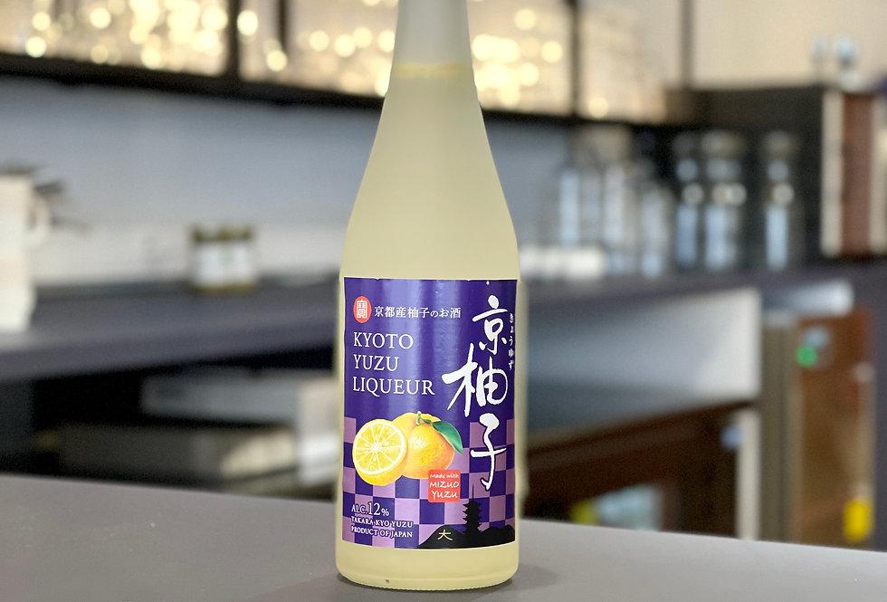 Liqueur de Yuzu Takara Kyo Yuzu 12% - 50cl