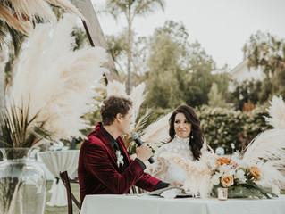 Kinsey & Grant's Boho Chic Wedding | Temecula, California
