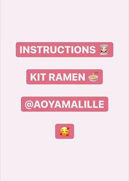 Vidéo préparation kit ramen restaurant japonais lille Aoyama