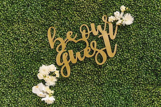 Be our guest hedgewall