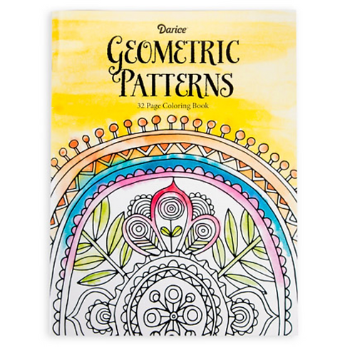 Adult Geometric Coloring Book