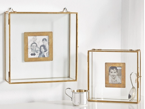 Glass Shadow Box Frames Small & Large