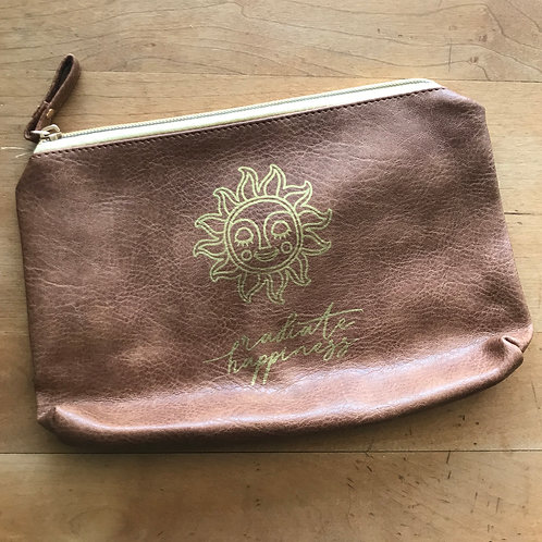 Radiate Happiness Makeup Bag