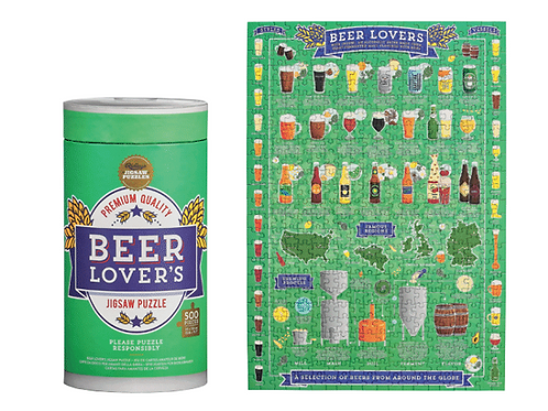 Beer Lover's Jigsaw Puzzle 500 pcs