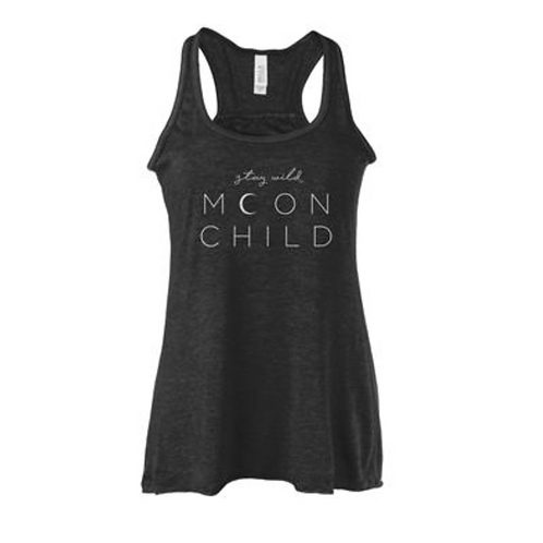 Tank Top - Stay Wild Moon Child