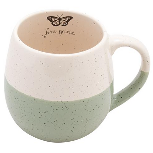 Speckled Mug -  Butterfly
