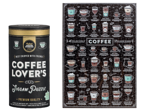 Coffee Lover's Jigsaw Puzzle 500 pcs