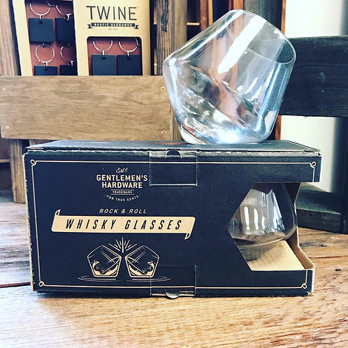 Whiskey Glasses Set of 2
