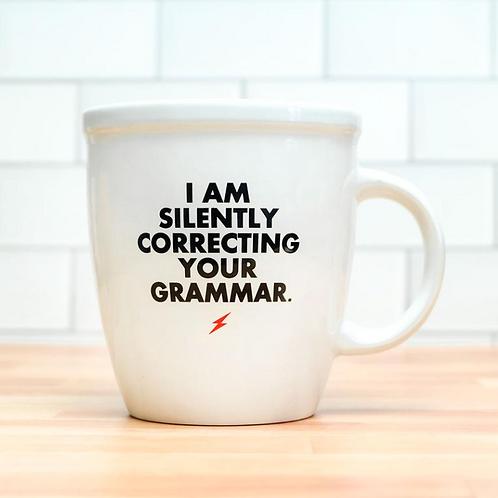 Silently Correcting Grammar Mug