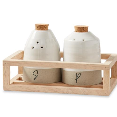 Salt and Pepper Shaker Crate Set