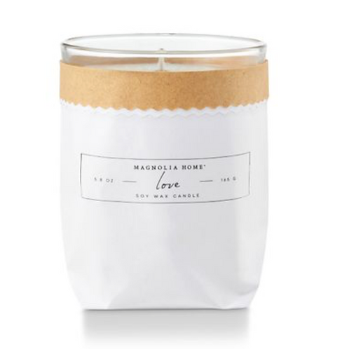 Magnolia Home Bagged Candle - Love