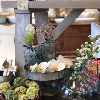 Farmhouse Trays, Glass Bottles, Echervabia Orbs, and Memory Photo Sticks