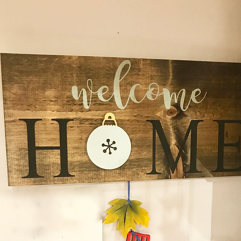 Welcome Sign Workshop 4/6 @ 6pm