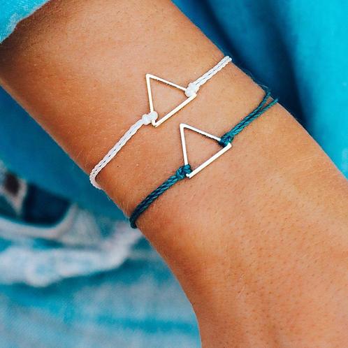 Pura Vida - Triangle Charm Bracelet