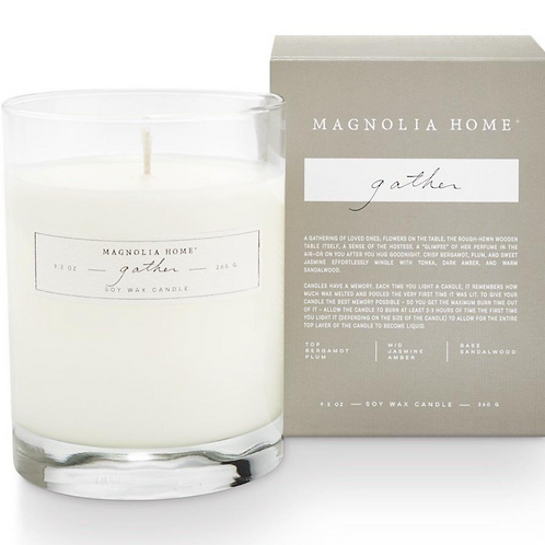 Magnolia Home Boxed Candle - Gather