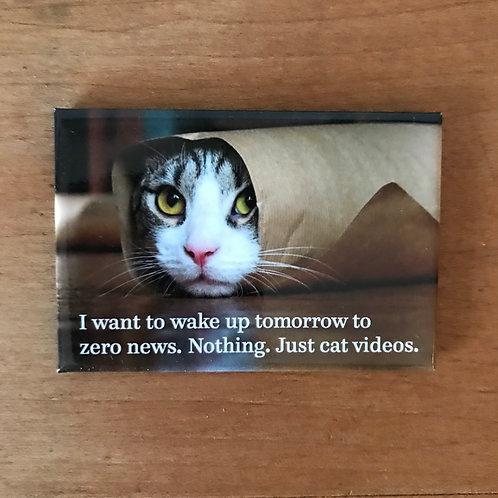 Cat News Magnet