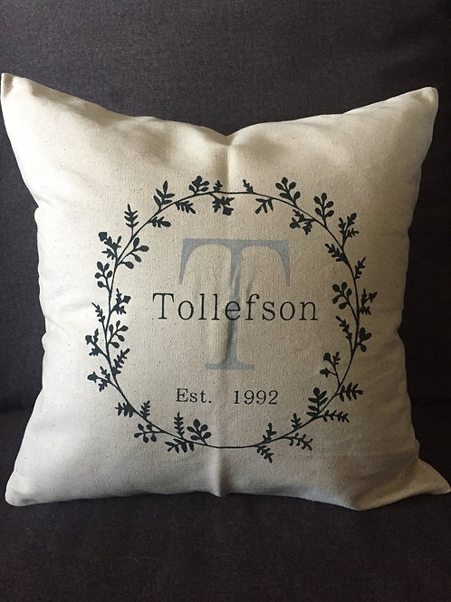 Pillow Cover Workshop 5/6 @ 6pm