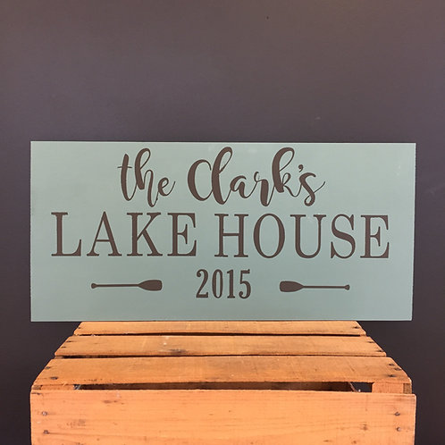 12x24 Lake House/River House Sign
