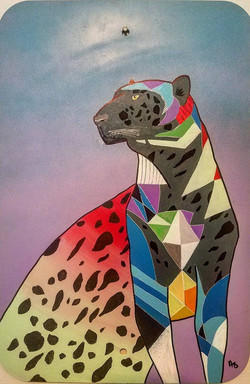 Neon Panther