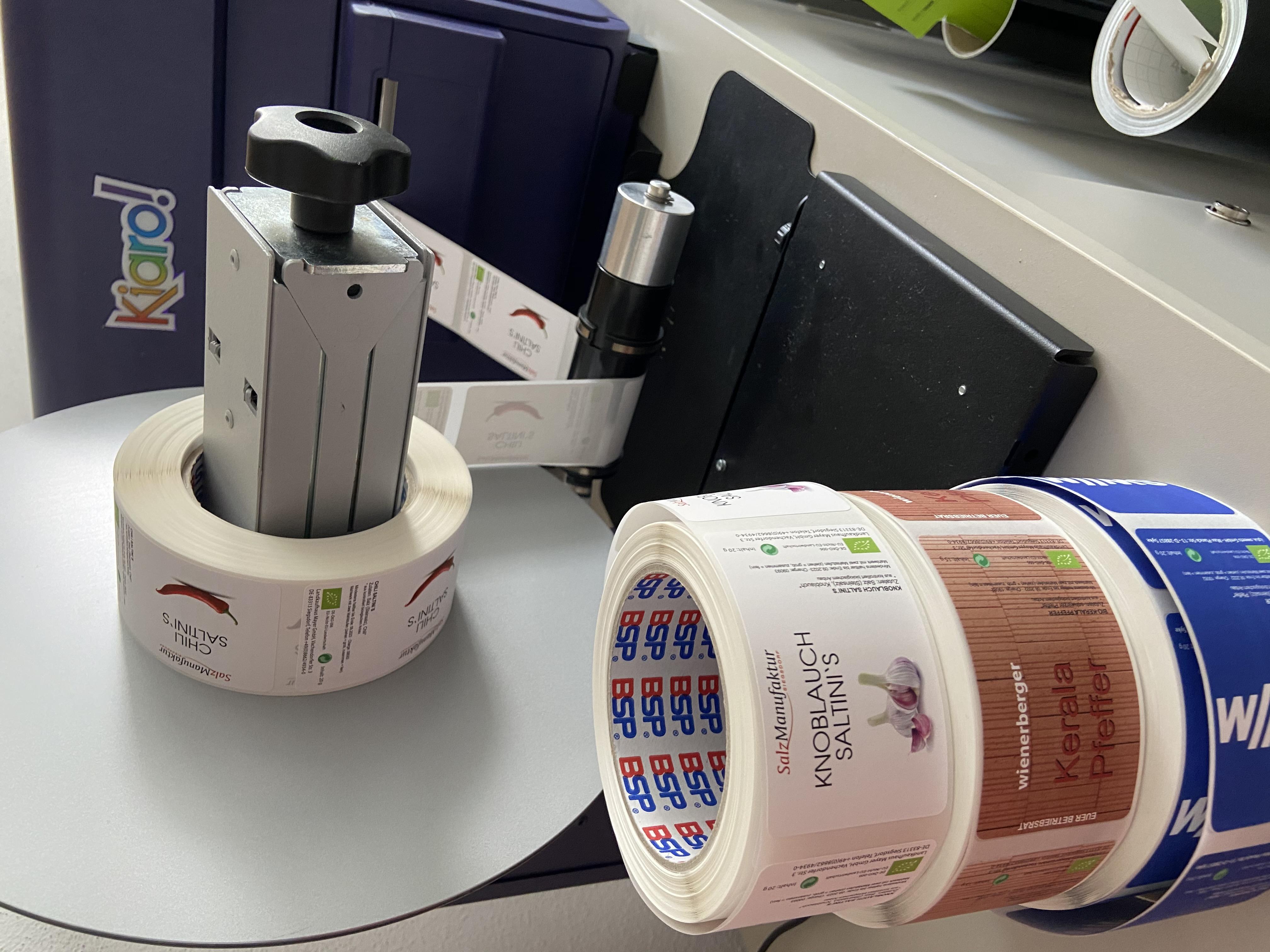 Kiaro Etikettendrucker