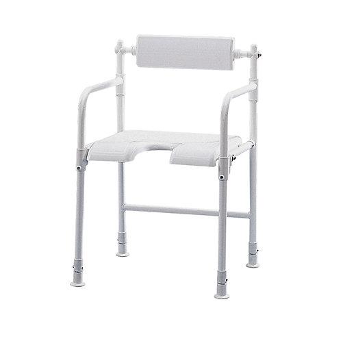 Fold away shower chair