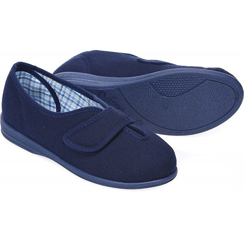 Sarah Womens Cosyfeet extra roomy slippers