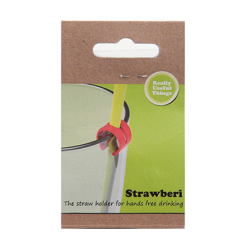Strawberi Straw Holder