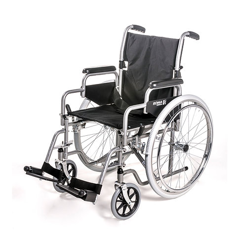 Self-Propeling Wheelchair With Detatchable Arms