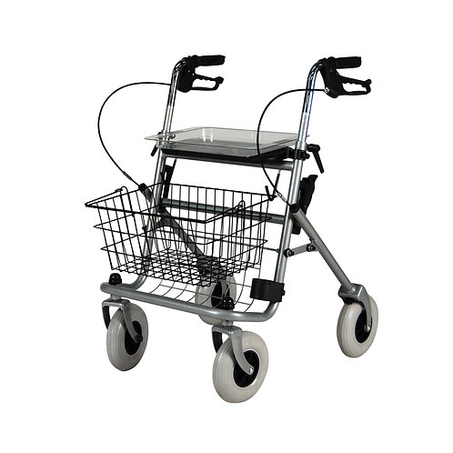Safety Rollator With Tray
