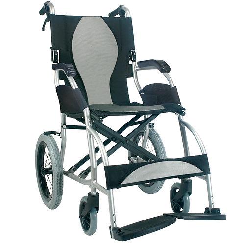 Ergo Lite Transit wheelchair Silver