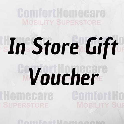 In Store Gift Voucher