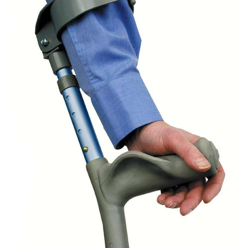 Comfort Grip Adjustable Crutches - Forearm - Medical