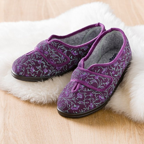 Cosyfeet Diane Womens Extra Roomy Slippers