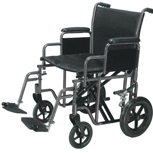 Drive Bariatric Steel transport Wheelchair