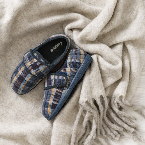 Reggie Mens Cosyfeet Slippers