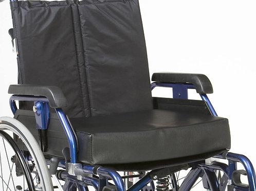 Vinyl Memory foam wheelchair cushion