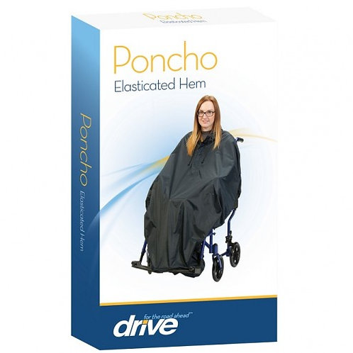 Scooter Cover Poncho Elasticated Hem