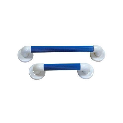 "Blue Plastic Fluted Grab Rail 12""/18""/24""/36"""