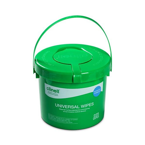 Clinell Universal Sanitising Wipes x 225 tub