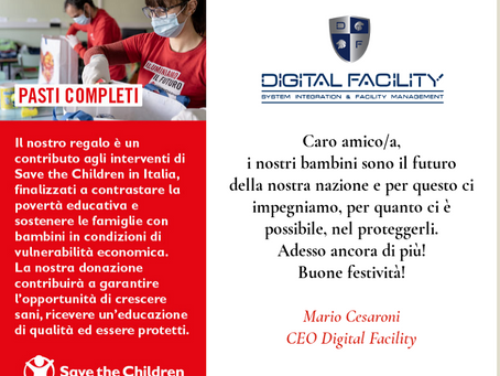 BUON NATALE DA DIGITAL FACILITY