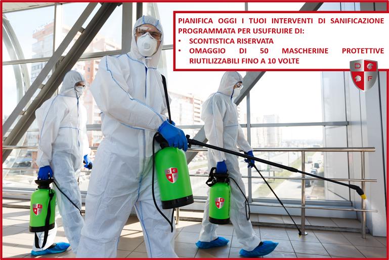 sanificazione ambienti e mezzi di lavoro