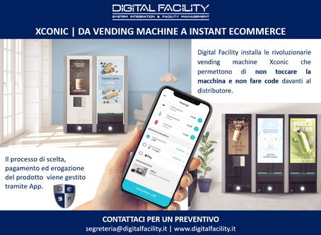 XCONIC | DA VENDING MACHINE A INSTANT ECOMMERCE