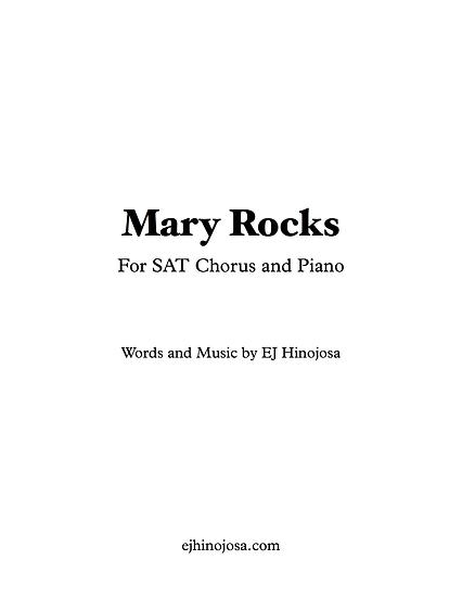 Mary Rocks SAT