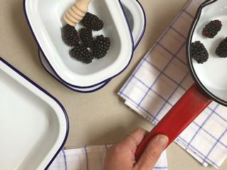 Seasonal Recipe(s!):  Blackberries Three Ways.